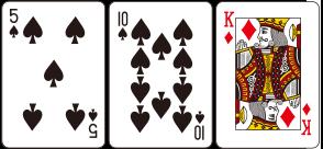카드 합이 21을 초과하는 경우를 말하며, 플레이어의 경우 Bust되면 베팅금액을 잃게 되고 딜러는 모든 고객에게 1:1 Pay를 하게 된다.