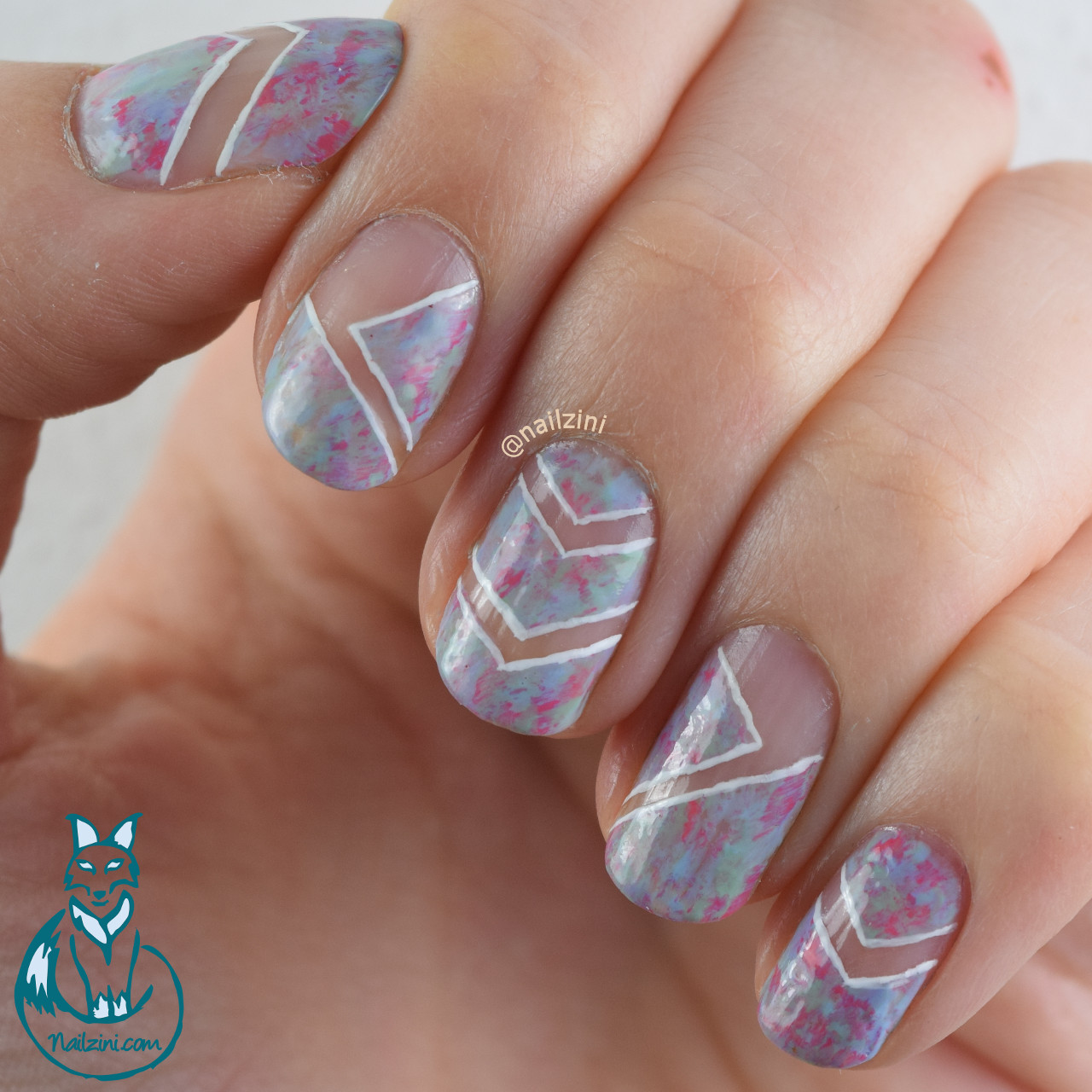 Negative Space Nail Art | Nailzini: A Nail Art Blog