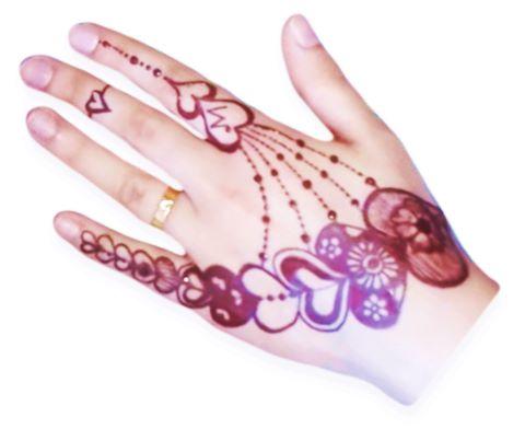 20 Love Heart Mehndi Designs Latest Valentine Arabic Bridal