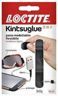 clicca qui per richiedere un campione gratis della pasta modellante flessibile Loctite Kintsuglue