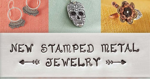 Winner of the New Stamped Metal Jewelry Book Giveaway