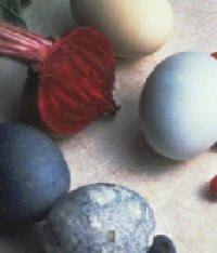 Easter Egg Natural Dye Colors