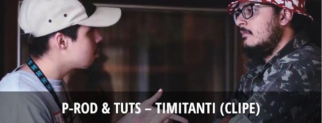 """Timitanti"", P-Rod & Tuts lança um remake da musica Timmy Turner do Desiigener"