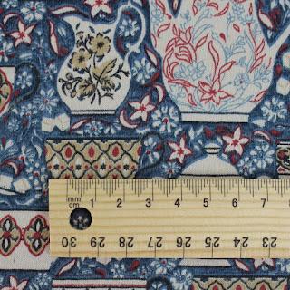 Creates Sew Slow: Liberty Tana Lawn Elevenses in dusky blue