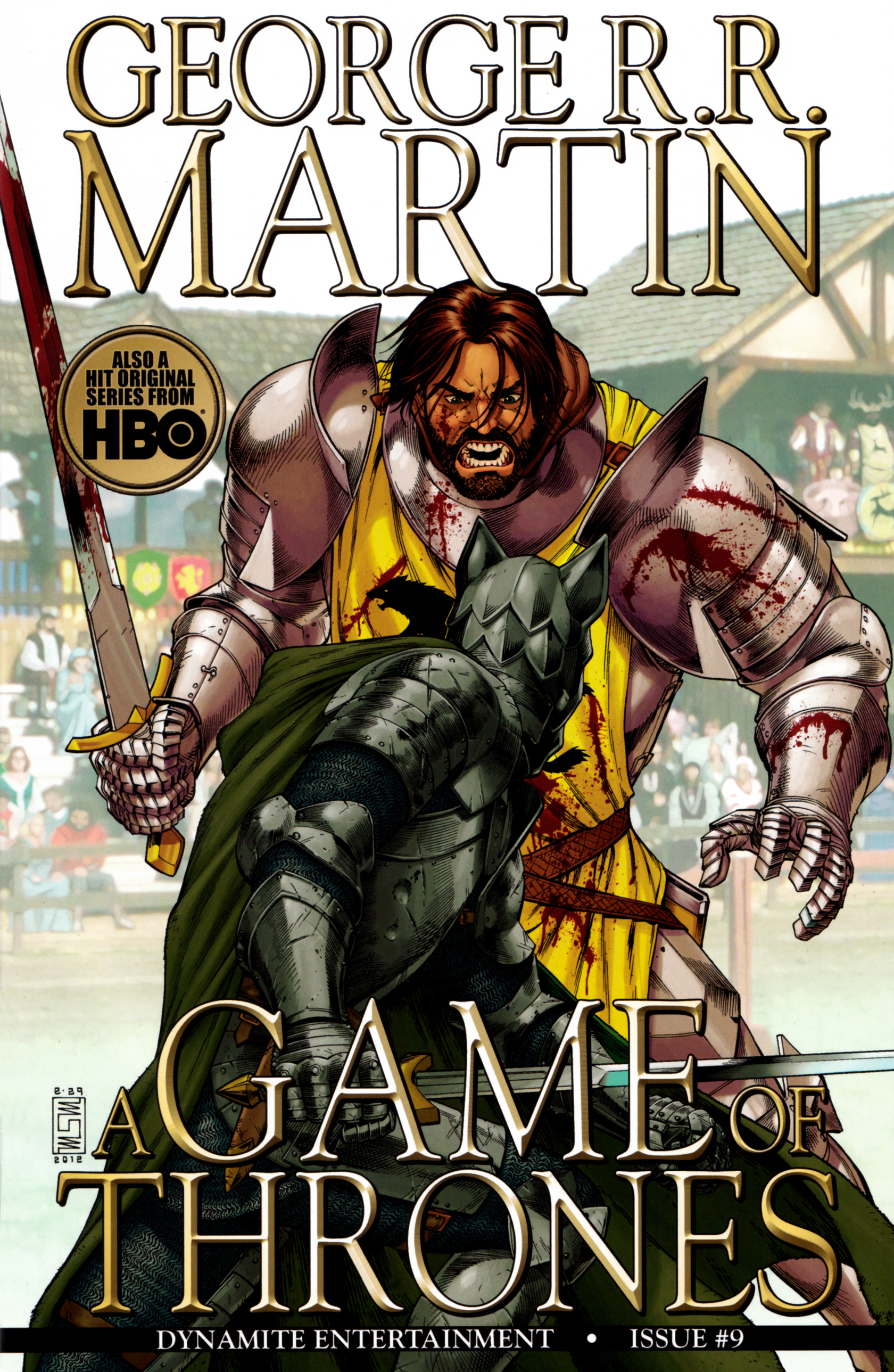 Read online A Game Of Thrones comic -  Issue #9 - 1