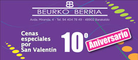 San Valentín compra en Barakaldo