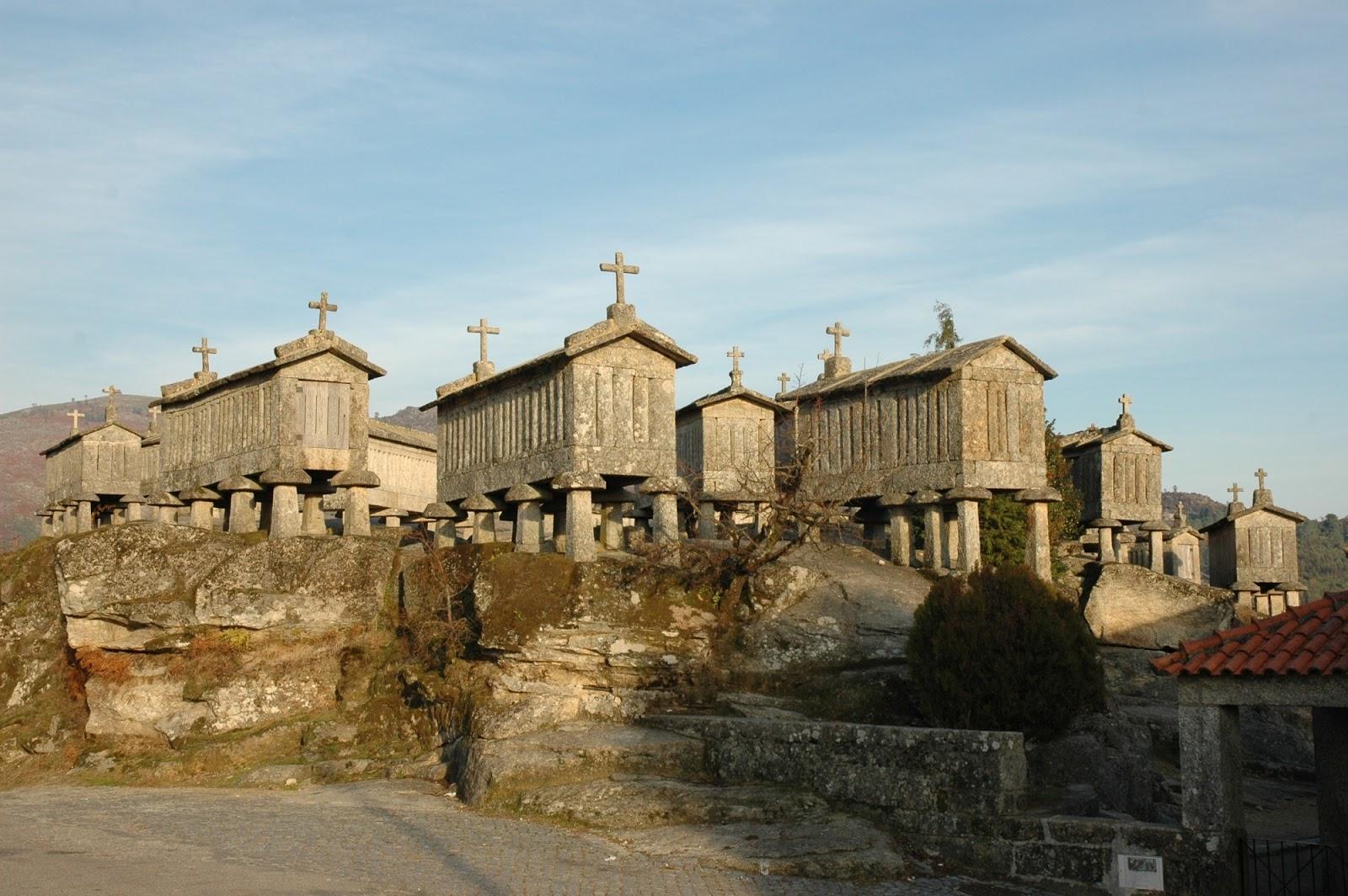 Espigueiros no Soajo (Viana do Castelo)