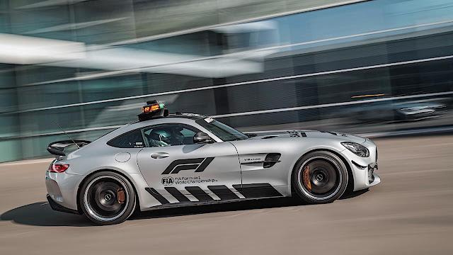 Menjadi Safety Car F1 Terkuat, Sehebat Apa Mercedes-AMG GT R?