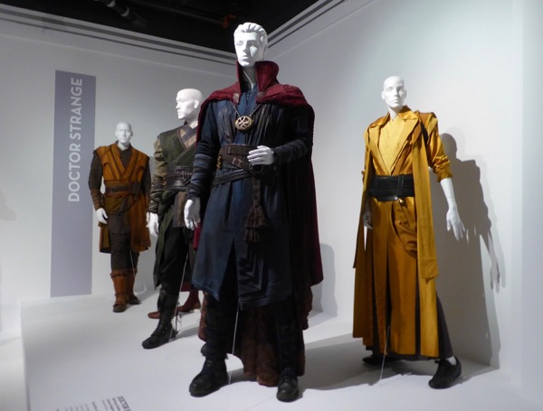 Marvel Doctor Strange film costumes