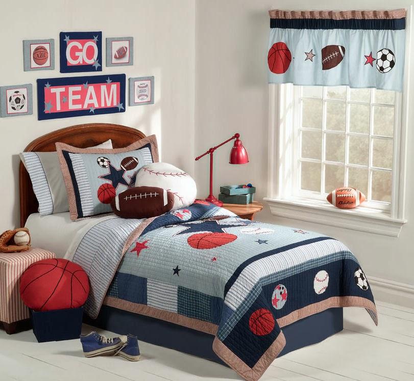 Dormitorio para ni os tema deportes dormitorios colores for Dormitorios tematicos