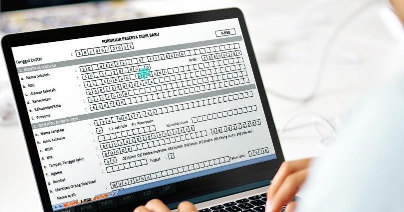 Aplikasi Ppdb Sd Smp Dan Sma Tahun Pelajaran 2016 2017 Paling Baru Dengan Microsoft Excel