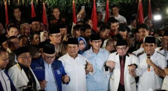 Elektabilitas Prabowo-Sandi Stagnan, Timsesnya Jadi Nyinyir dan Main Drama