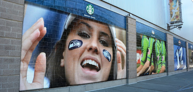 Century Link Field Seattle advertising