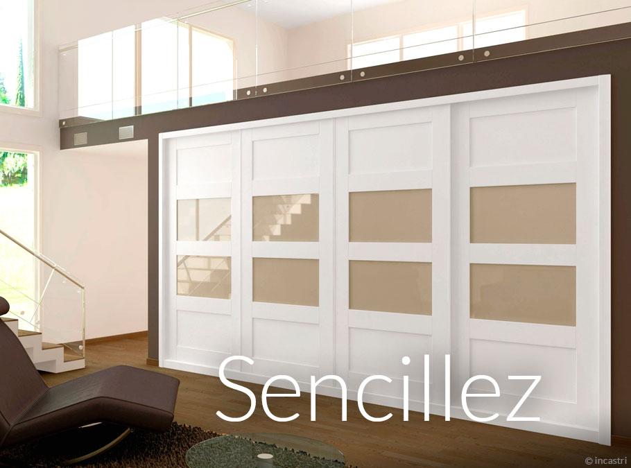 Tipos de armarios armarios en zaragoza 976 512 156 - Puertas correderas para dormitorios ...