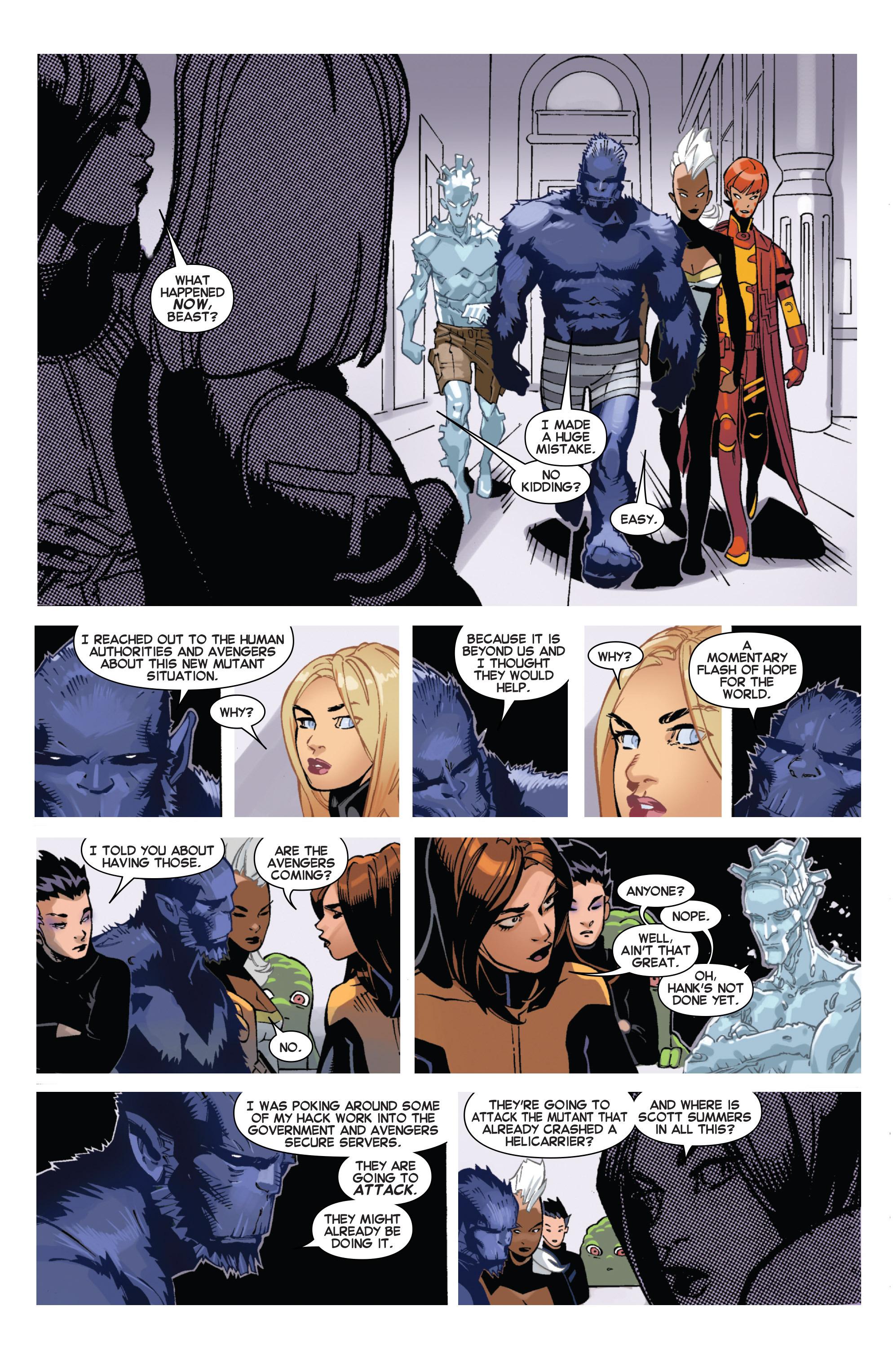 Read online Uncanny X-Men (2013) comic -  Issue # _TPB 5 - The Omega Mutant - 70