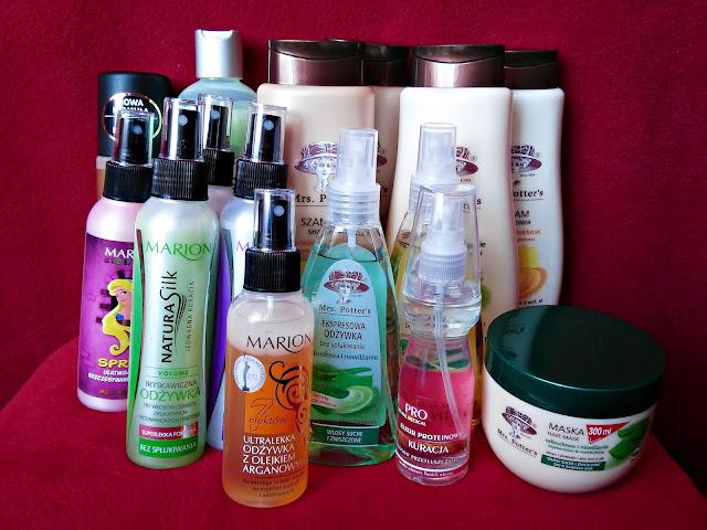 HAUL kosmetyczny - Kosmetyki do pielegnacji włosów z Biedronki, szampony i odżywki z Biedronki