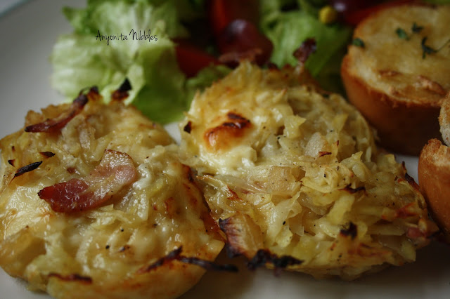 Nids de Tartiflette (Cheese and Potato Nests)