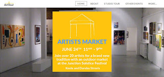 ArtTour Artists Market At The Junction Solstice Festival