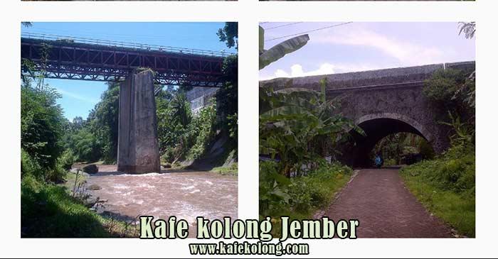 Survei di lokasi jembatan Mastrip Jember