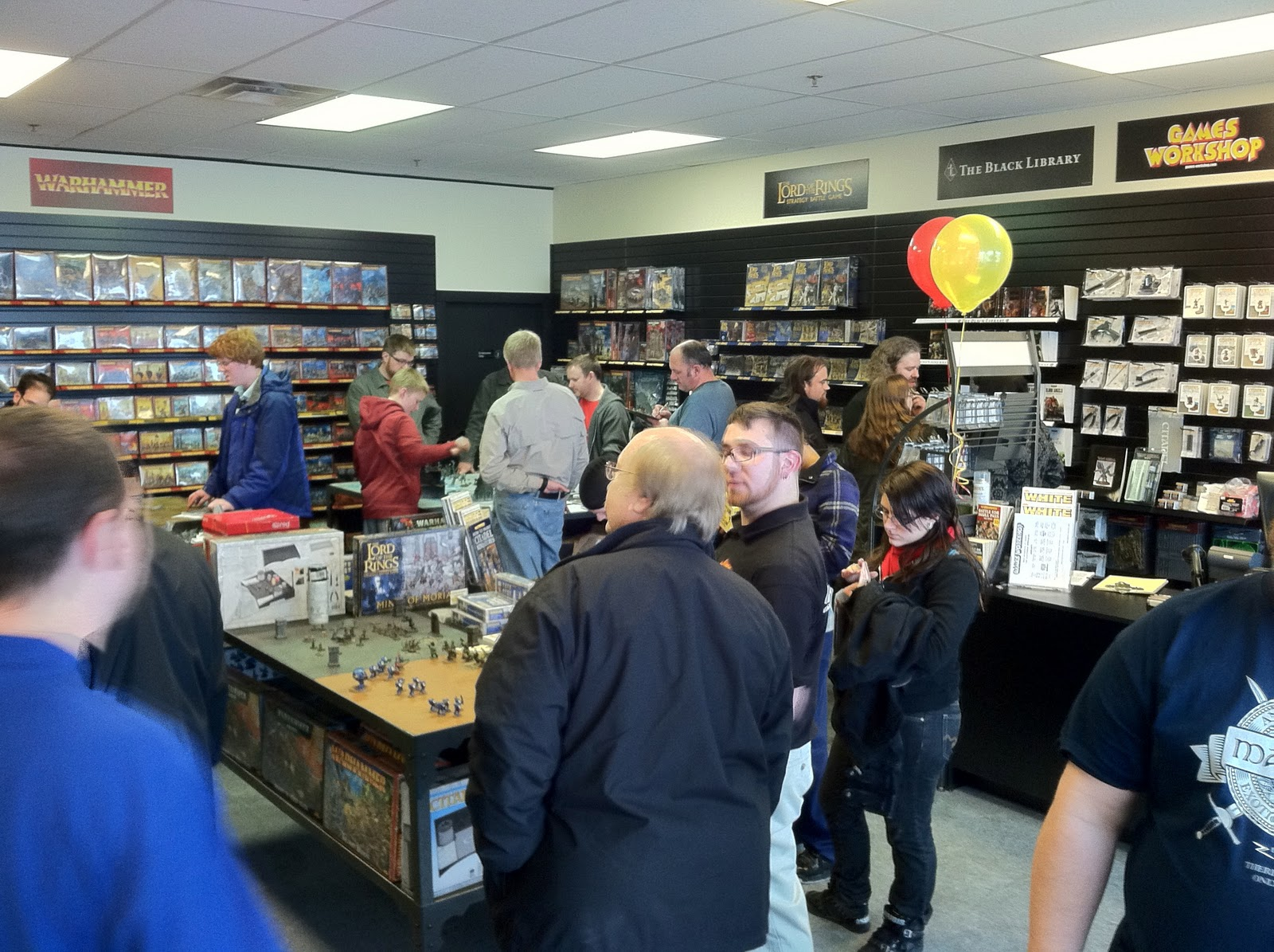 The Back 40k Grand Opening The First Gw In Indianapolis
