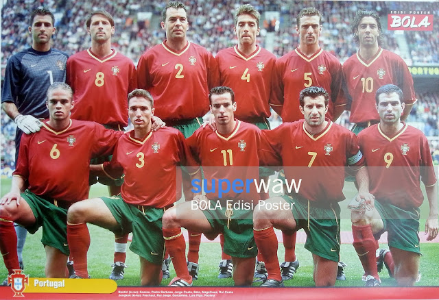 Poster Tim Portugal 2000