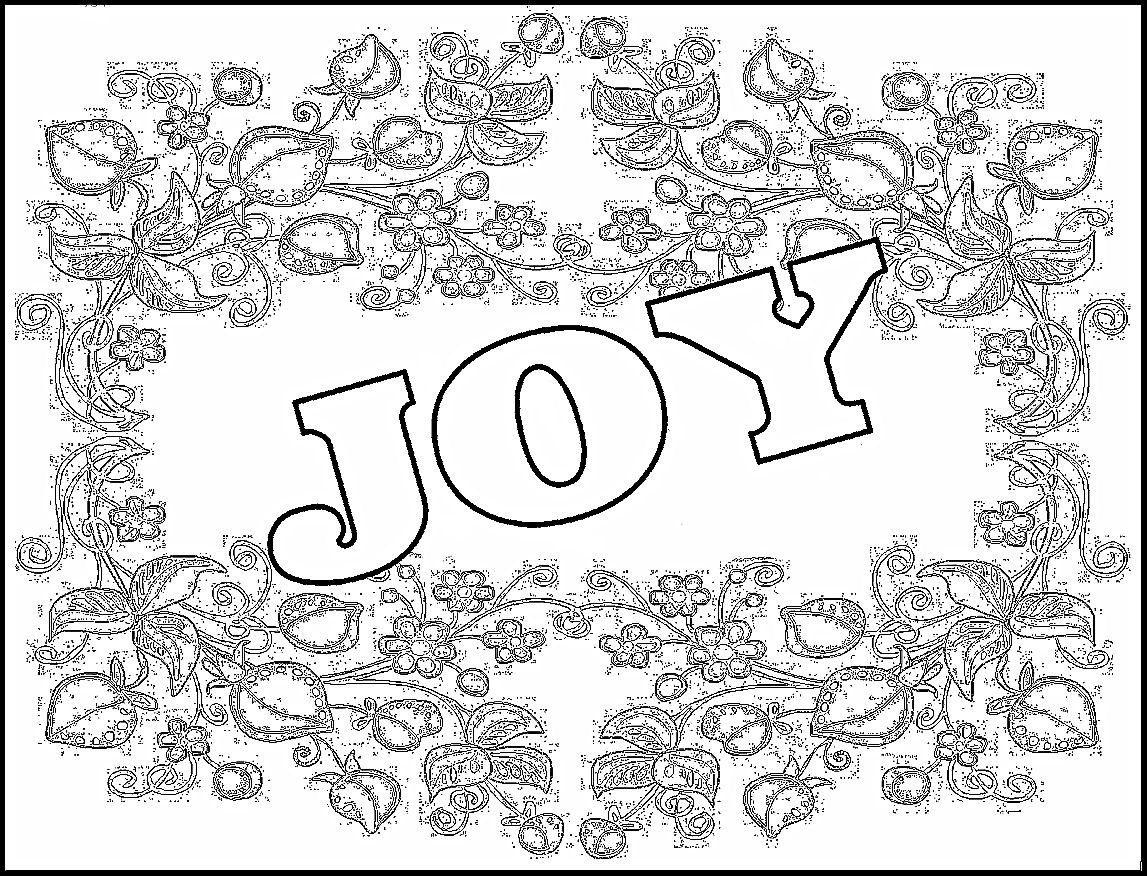 It is a picture of Intrepid Joy Coloring Page