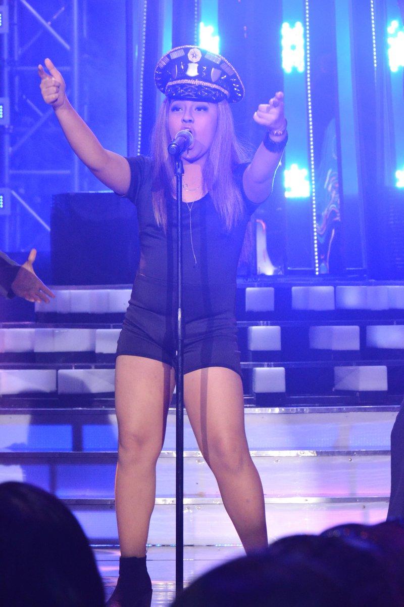 Elha Nympha impersonates Beyonce