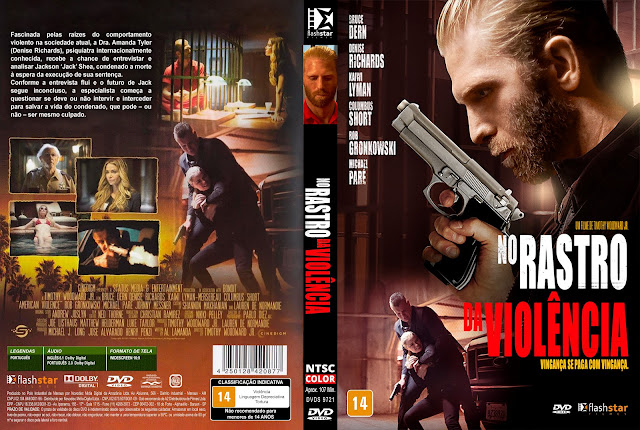 Capa DVD No Rastro da Violência [Exclusiva]