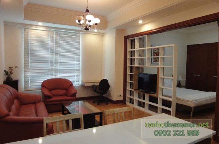 Cho thuê một số căn hộ tại The Manor 2 - view tổng thể