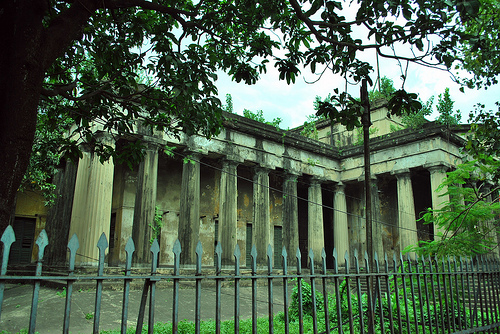 Old silver mint in ruins Kolkata. Source ~ blogspot.com
