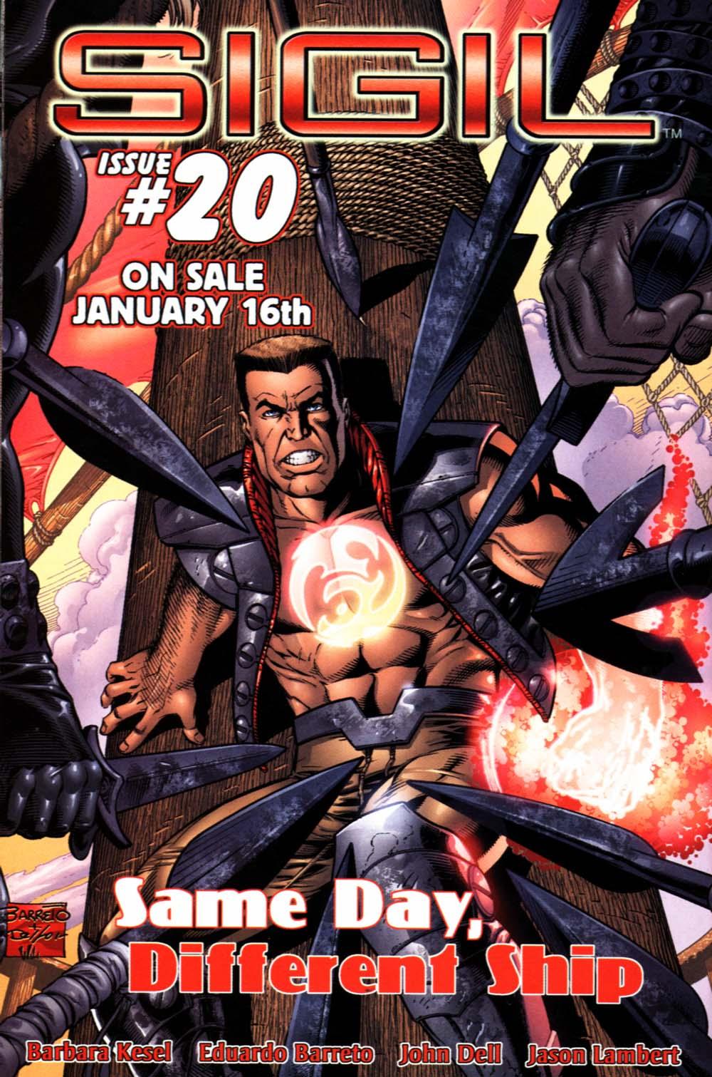 Read online Sigil (2000) comic -  Issue #19 - 29