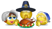 Thanksgiving Prayer Smileys
