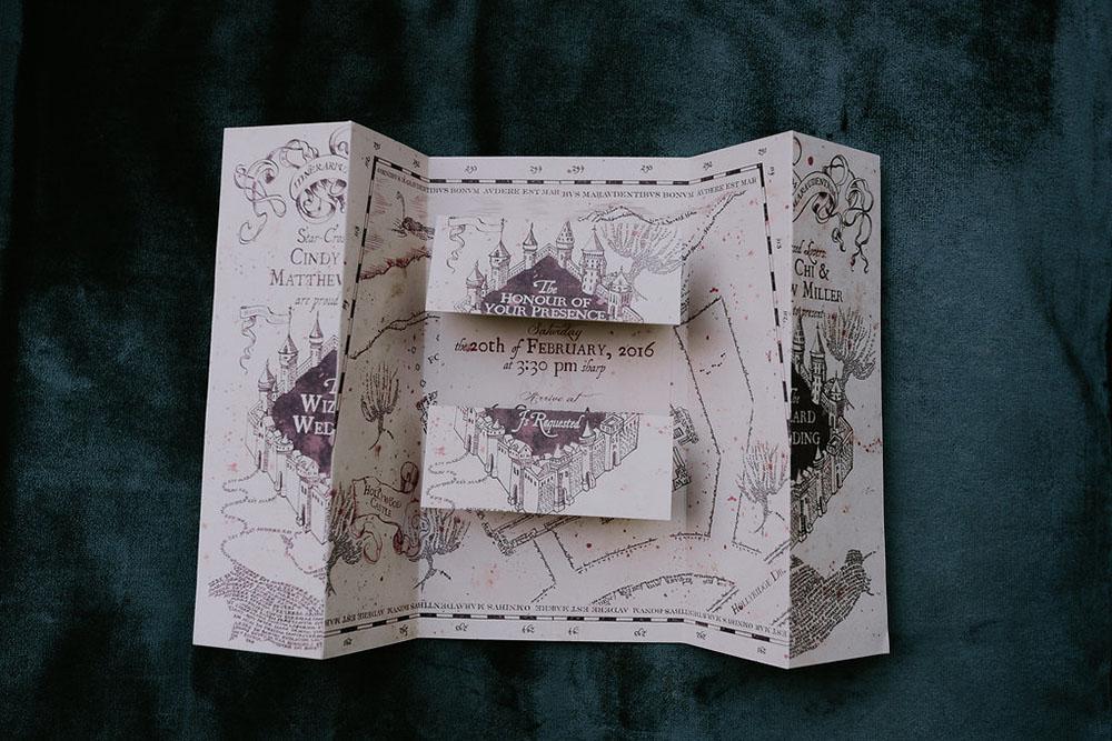 Inspiracja ślubna Harry Potter Moje Wielkie Wesele