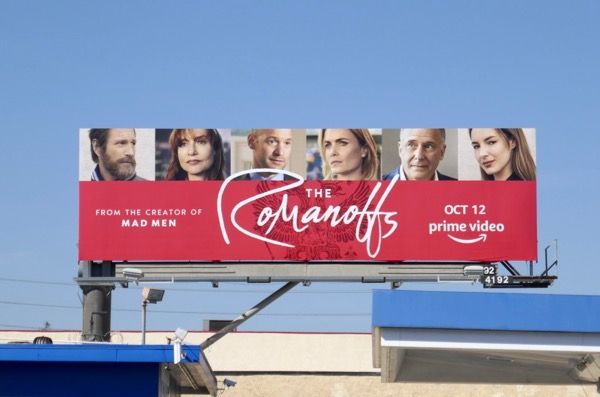 Romanoffs season 1 billboard