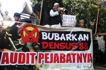 Undangan Aksi Bubarkan Densus 88 Di Beberapa Kota Besar