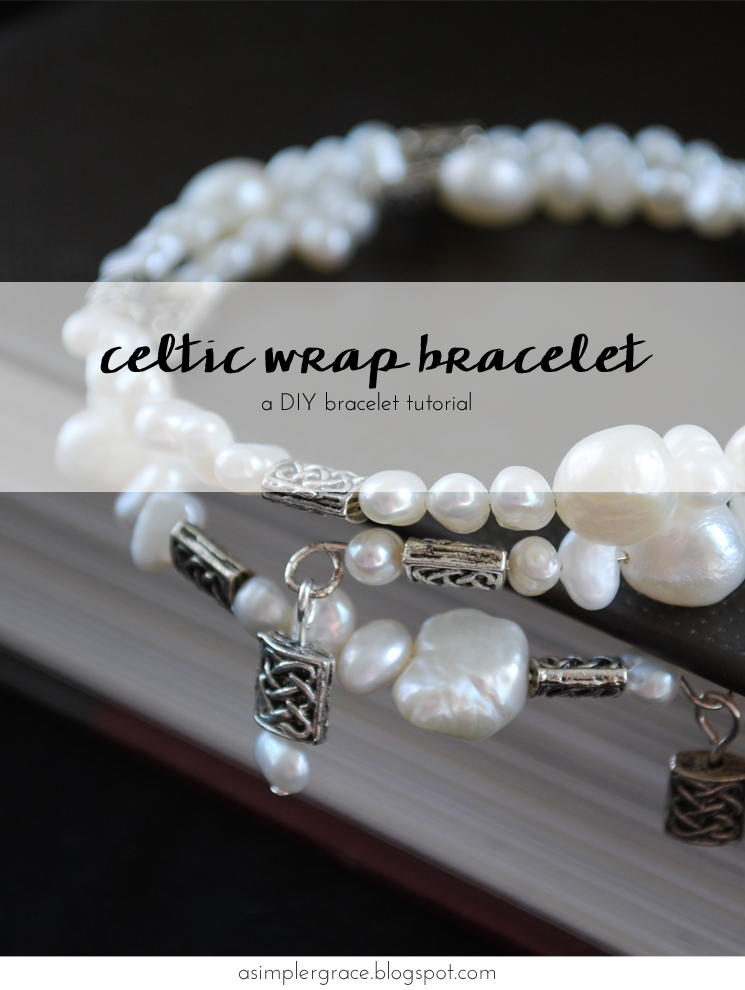 Celtic Wrap Bracelet Tutorial - A Simpler Grace