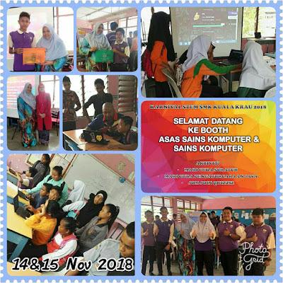 Karnival STEM 2018 di SMK Kuala Krau, Pahang