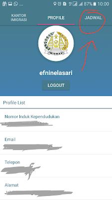 Aplikasi Antrian Pasport Online