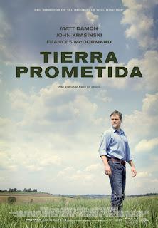 Tierra prometida (Promised Land) - Poster español