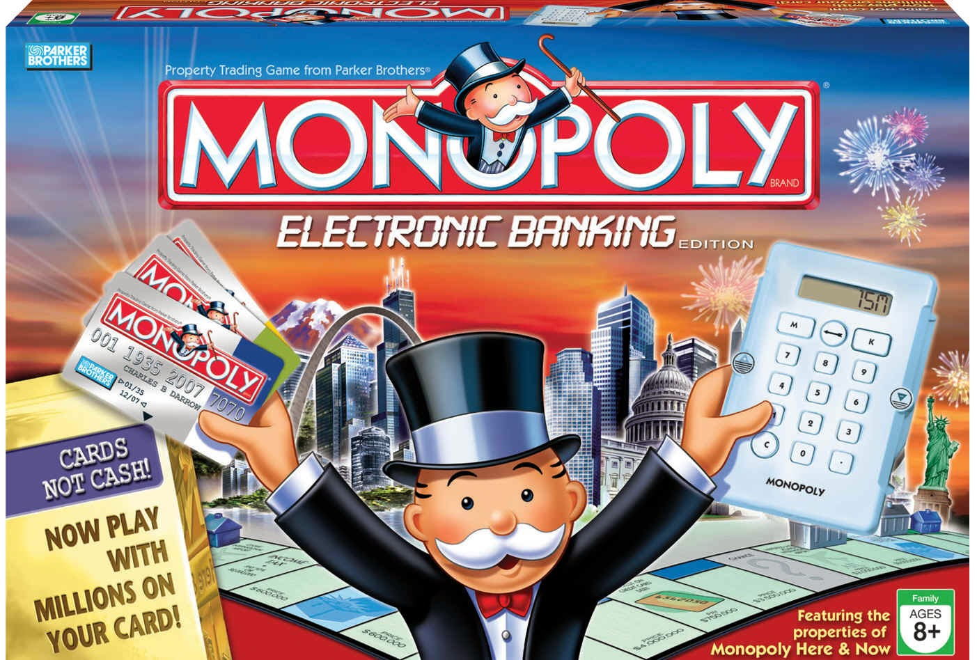 Monopoly us cities electronic edition.
