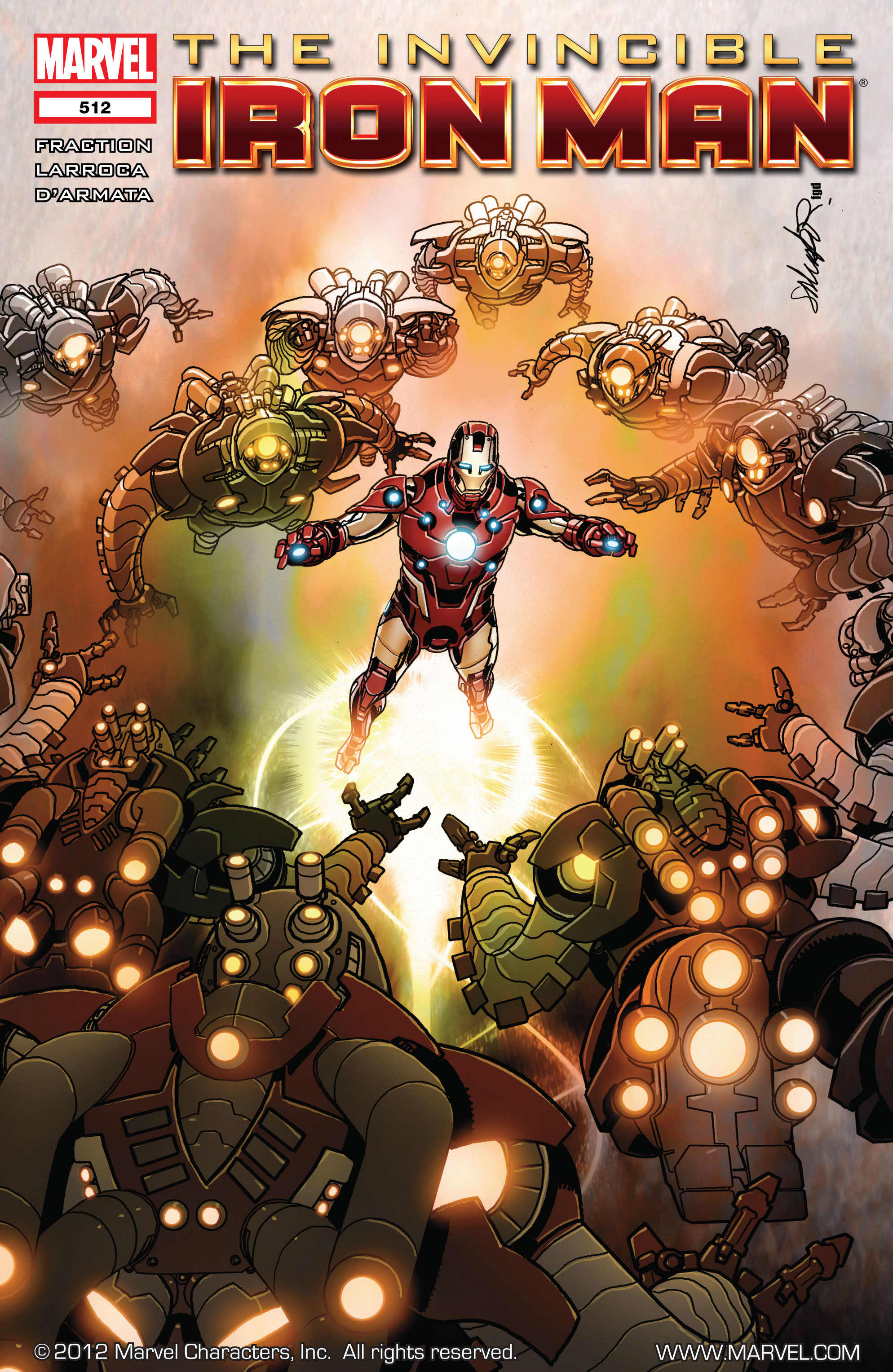 Invincible Iron Man (2008) 512 Page 1
