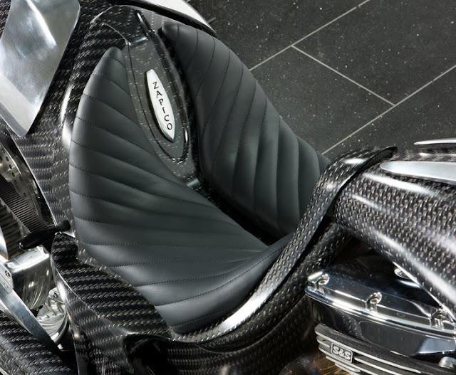 Mansory Zapico bike detail