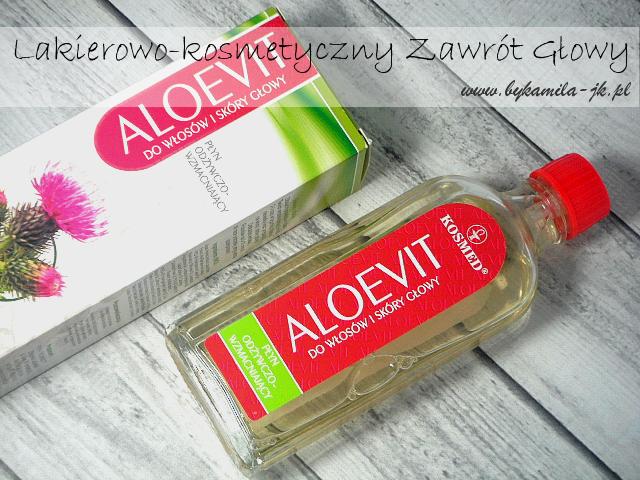 Kosmed Aloevit płyn odżywczo-wzmacniający do włosów i skóry głowy wcierka