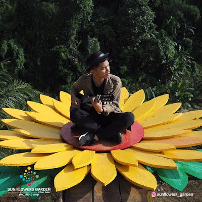Gratis Masuk, Sun Flowers Garden Medan Diserbu Pengunjung