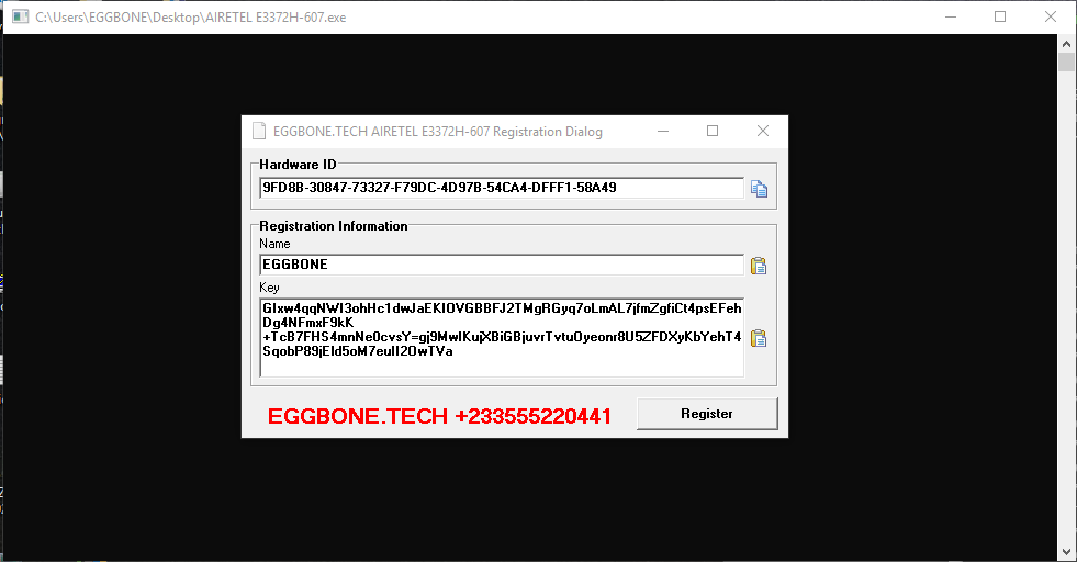 Free Unlock Airtel Huawei E3372H-607 Modem - EGGBONE