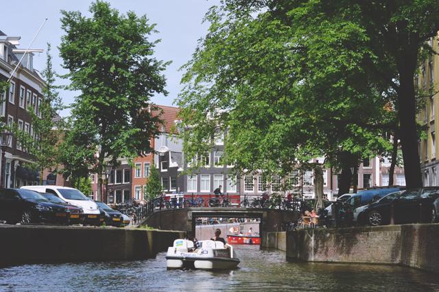 Pedalo hire Amsterdam