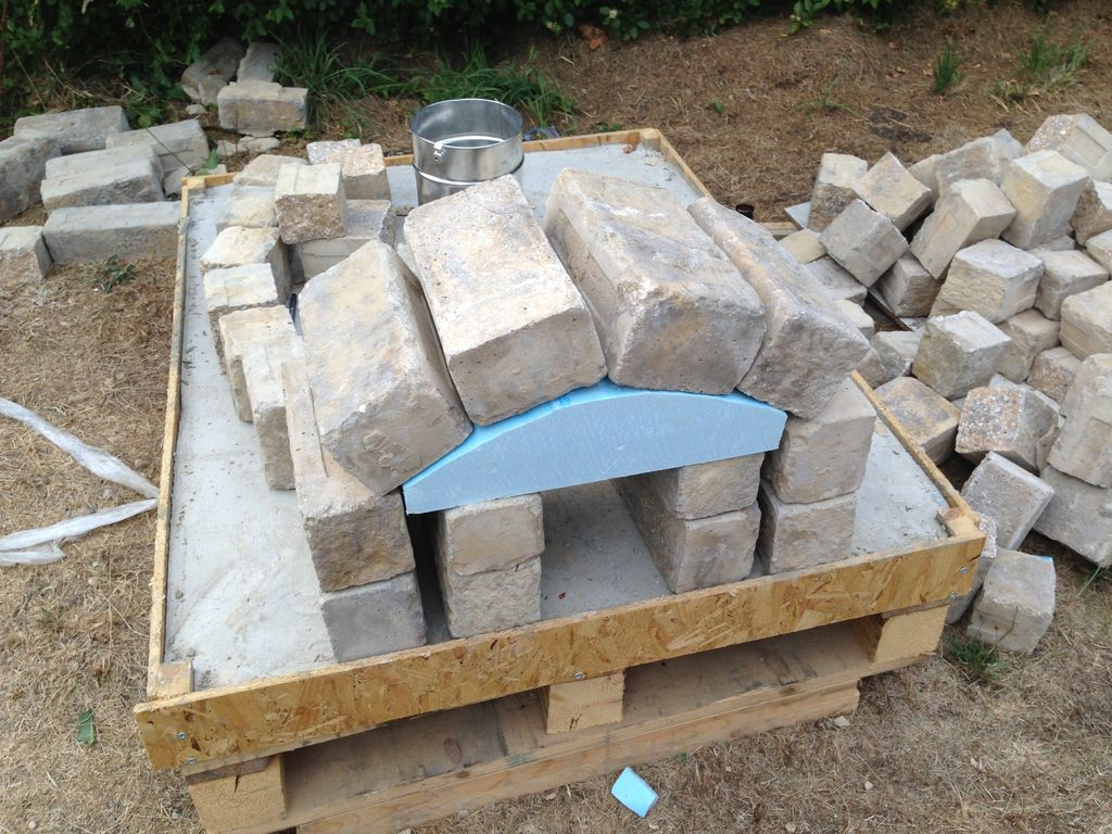 dwell of decor diy outdoor pizza oven project