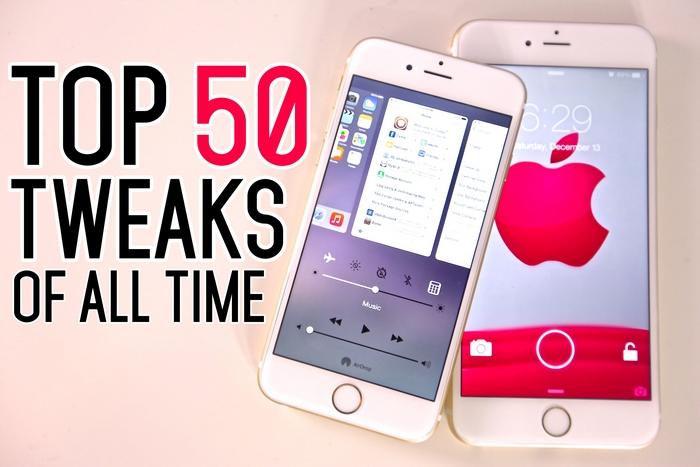 Top 50 Cydia Tweaks For Ios 7 Tweak Cydia Jailbreak Ios 7 Ios 8 Icloud Apple