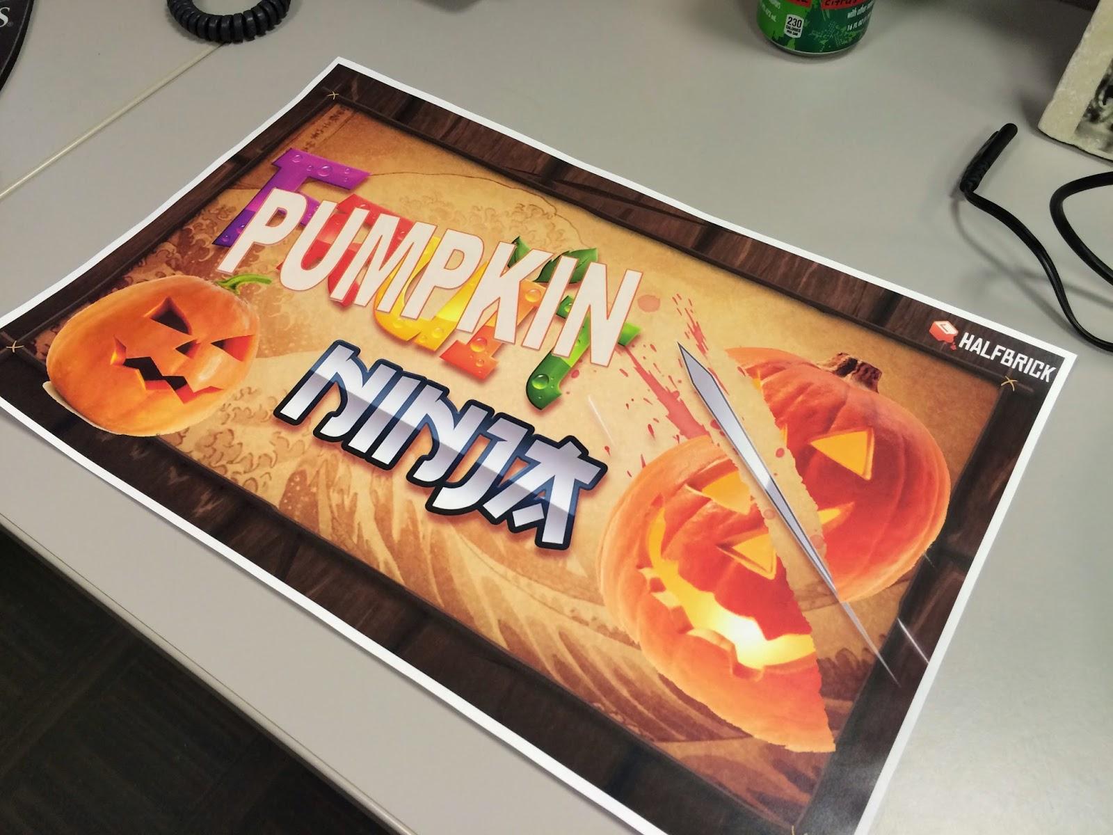 Dad-Geek-Gamer: In That Order: Fruit Ninja: Cub Scout Pumpkin Edition