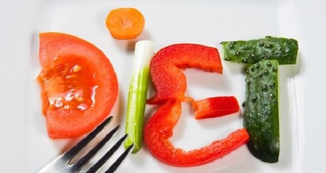 diet dengan makanan sehat